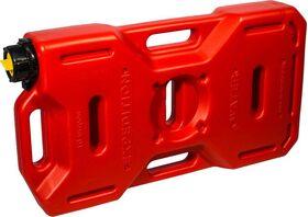 """Канистра плоская """"Экстрим"""" плюс 10 литров оранжевая (реальный объем 8,6 л) - ООО  «ПП «АВЕС» - Аксессуары для охотничьего оружия купить оптом от производителя на UDM.MARKET"""