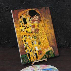 """Paint by numbers """"The Kiss Gustav Klimt"""" 40x50cm - ООО «Мега-Групп» - Toys & Hobbies  buy wholesale from manufacturer and supplier on UDM.MARKET"""