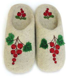 """Home slippers """"Ripe currant"""" - """"Glazovskie valenki"""" - Shoes buy wholesale from manufacturer and supplier on UDM.MARKET"""