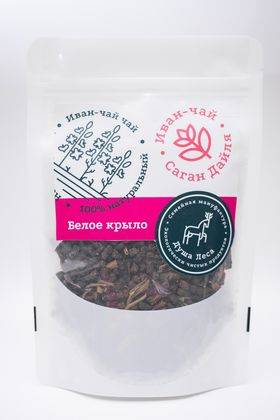 """Ivan tea with sagan daila """"White wing"""" - Душа Леса - Tea buy wholesale from manufacturer and supplier on UDM.MARKET"""