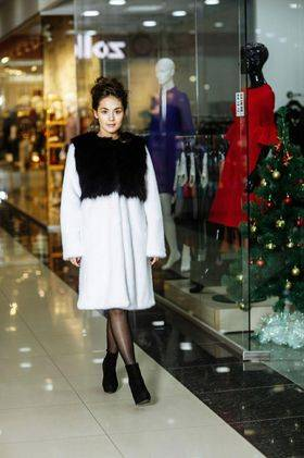 ECO Fur white mink+fox - Green Fur - Apparel, Textiles, Fashion Accessories & Jewelry buy wholesale from manufacturer and supplier on UDM.MARKET