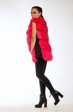 Vest Eco silver fox - Green Fur - Apparel, Textiles, Fashion Accessories & Jewelry buy wholesale from manufacturer and supplier on UDM.MARKET